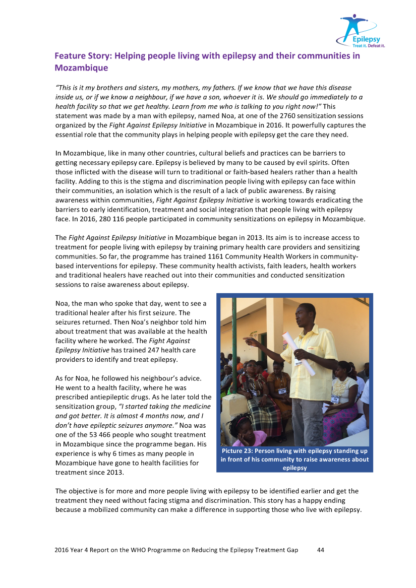 2016 UCB Report -Mozambique Feature Story